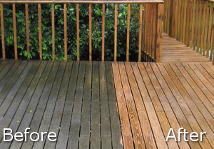 Jet Washing Before After